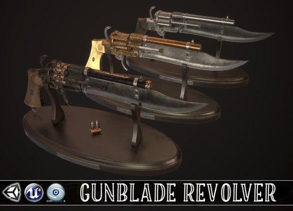 revolver gun vintage model