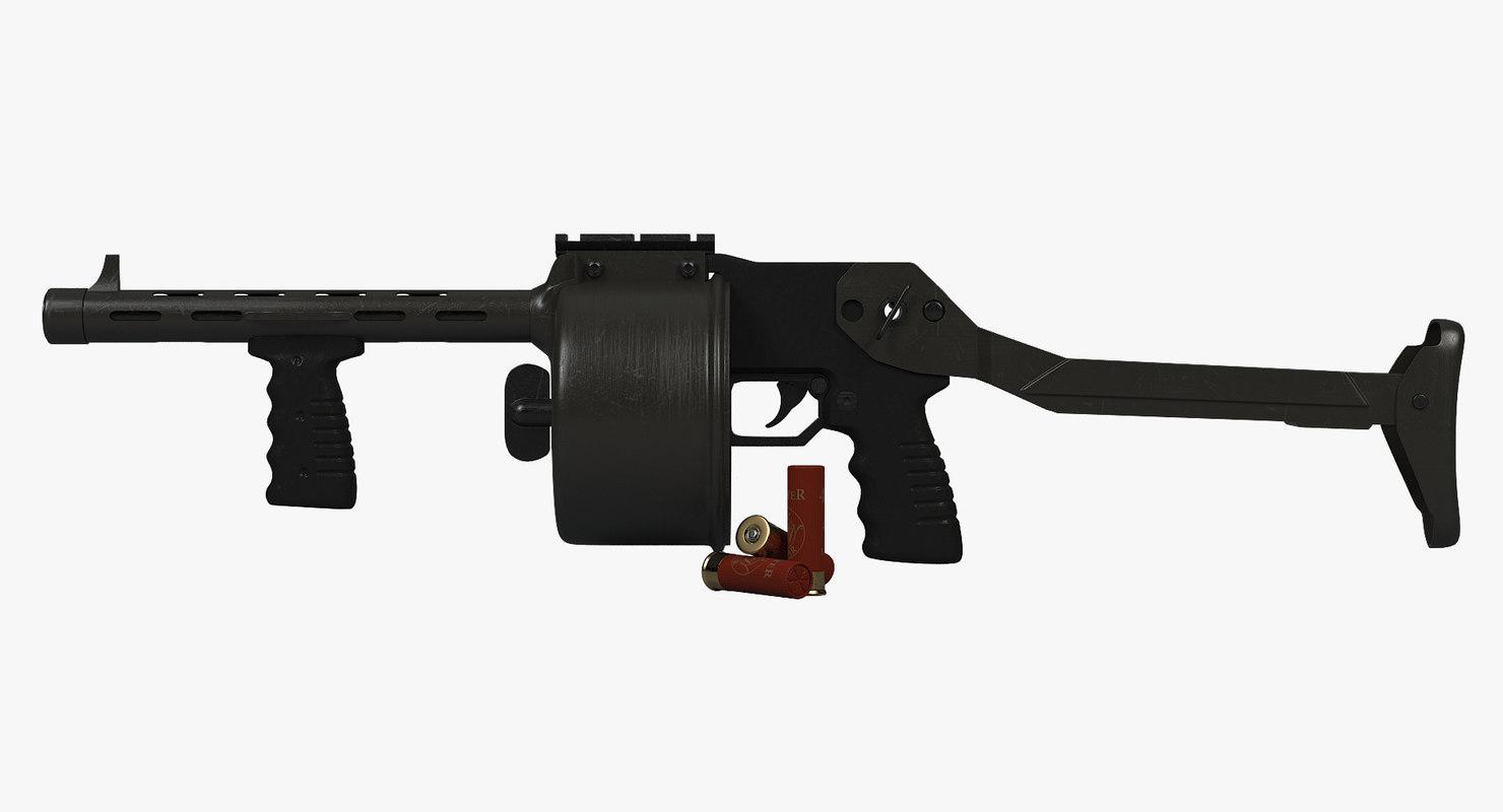 shotgun dao 12 3D
