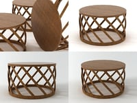 3D cesta table