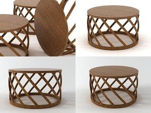 3D cesta table
