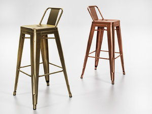 3D model a56 stool