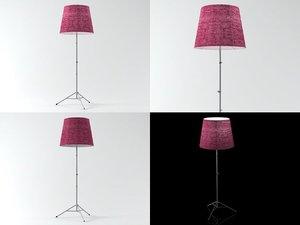 gilda floor lamp 3D model