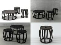 3D simplice tables