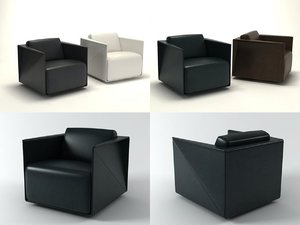 t-ray armchair 3D model