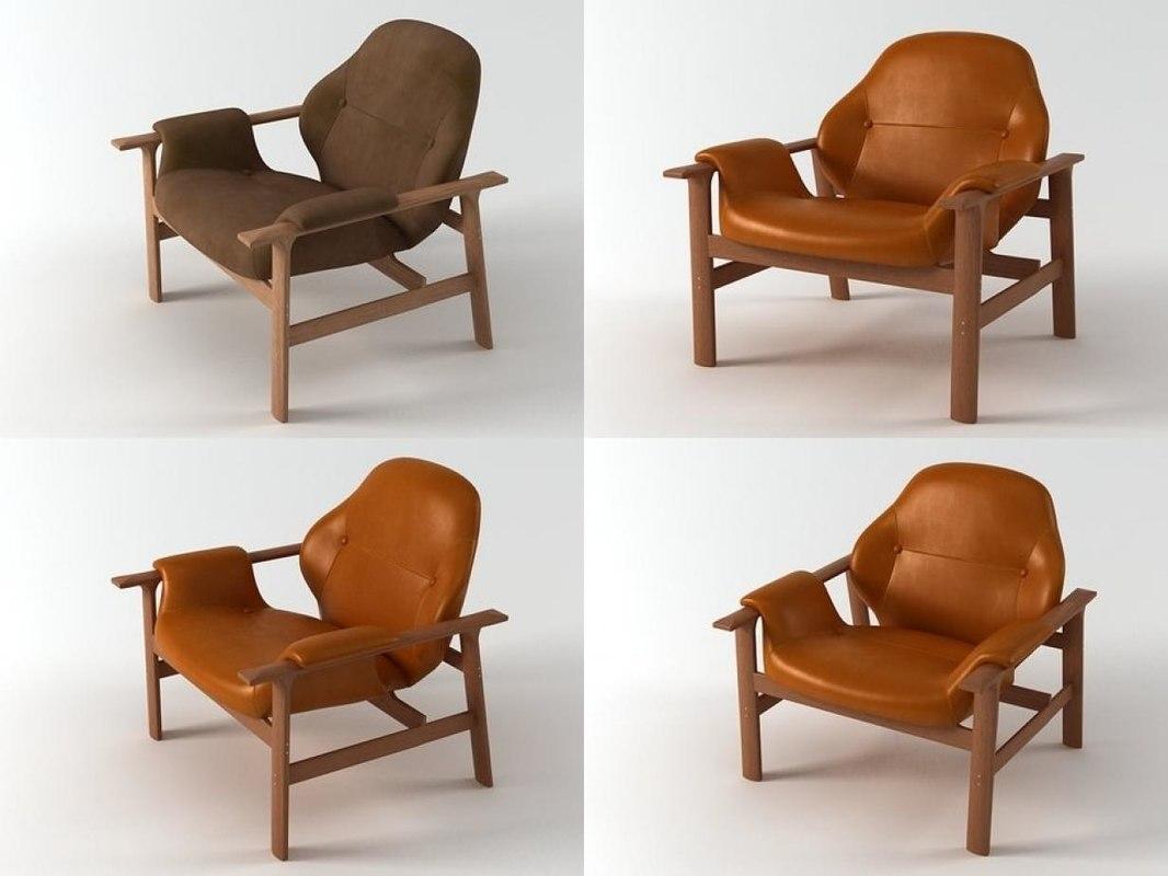 3D veronica armchair