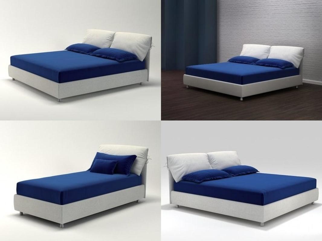 nathalie flou 3d model turbosquid 1180925. Black Bedroom Furniture Sets. Home Design Ideas