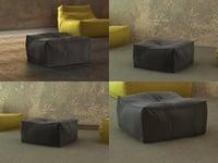 zoe pouf 65 3D model