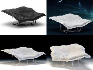 3D wallace armchair