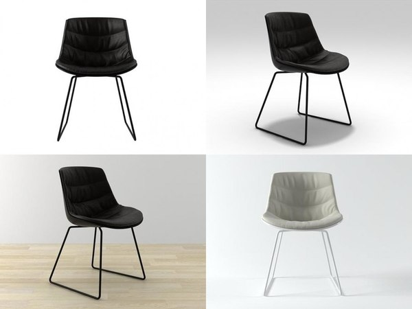 flow chair sled base 3D