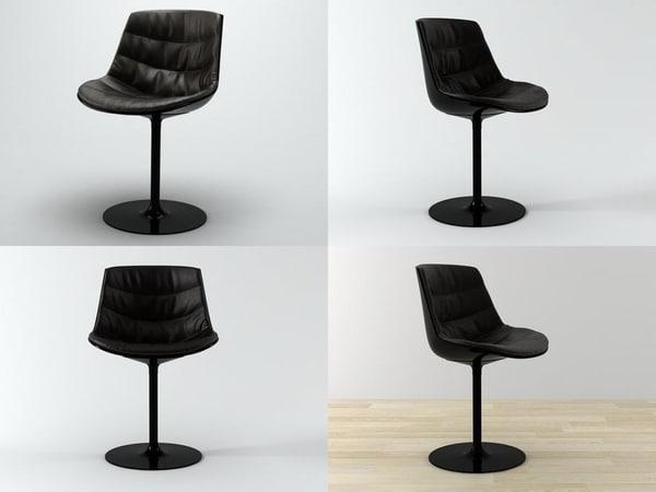 3D flow chair-central leg