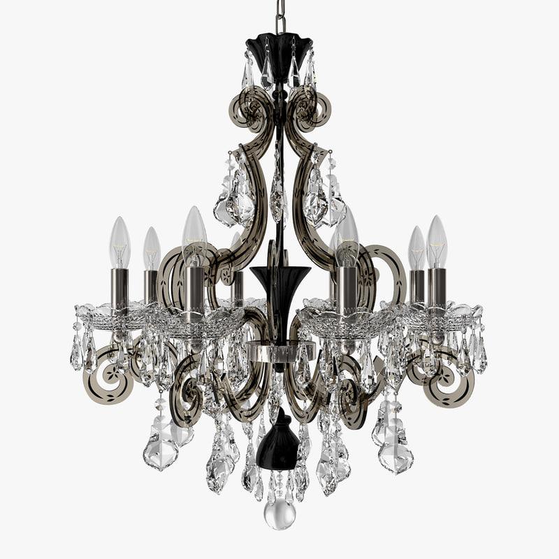 schonbek - capella chandelier model