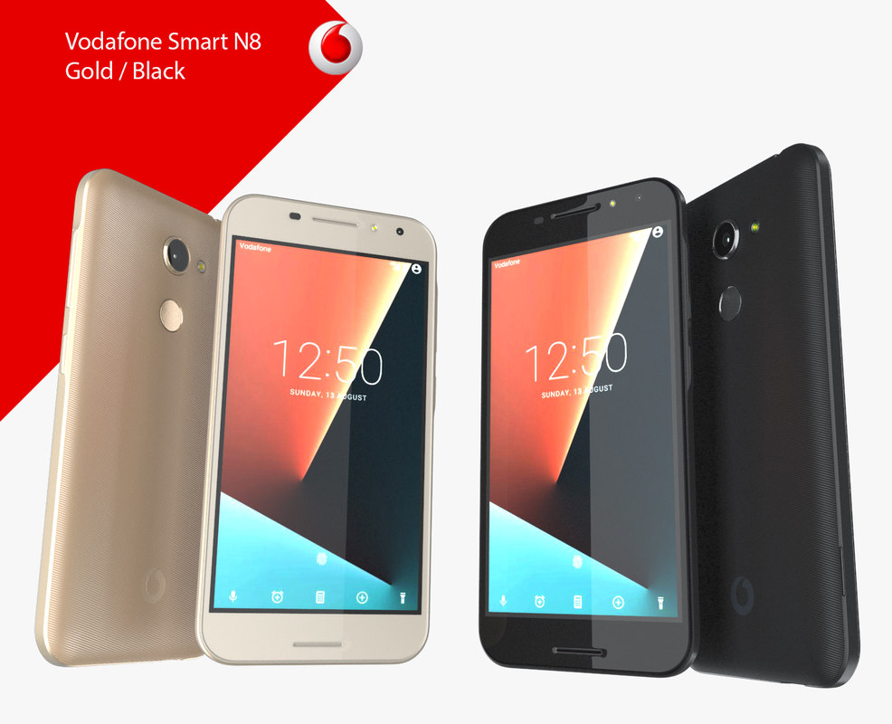vodafone smart n8 gold 3D model