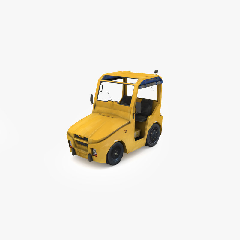 3D jst tractors baggage model
