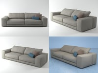 hills sofa 2 model