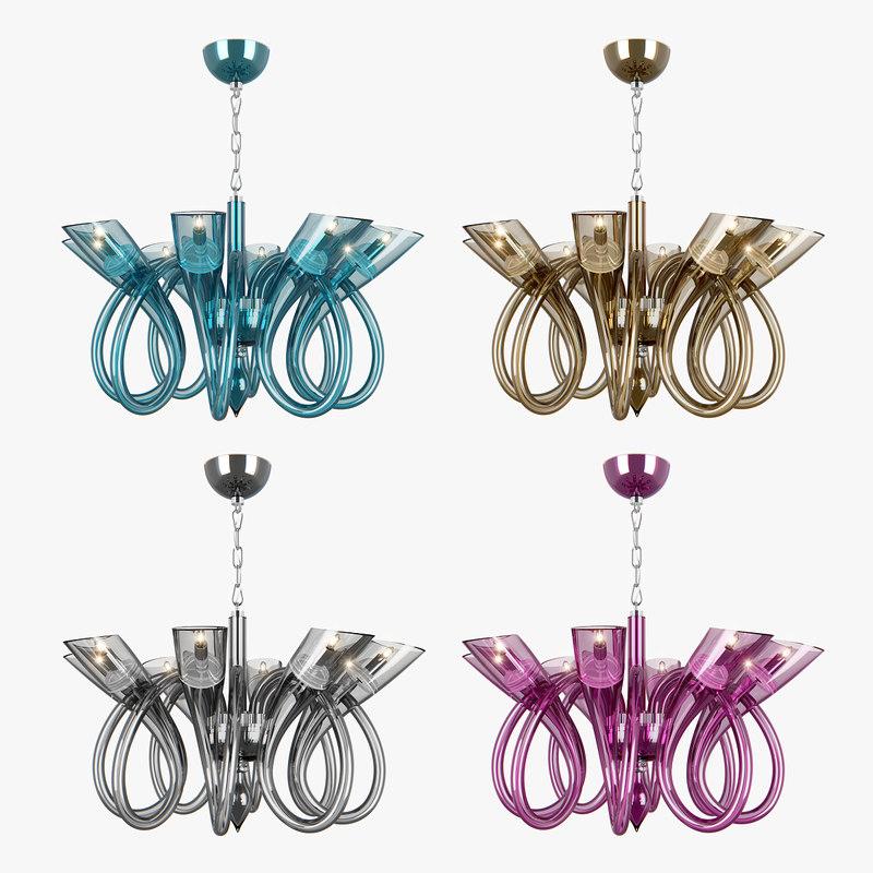 chandelier stella lightstar 3D model