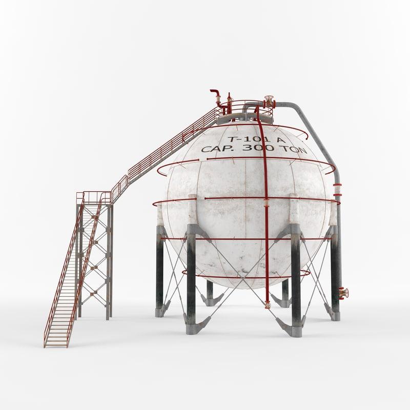 tank storage 3D
