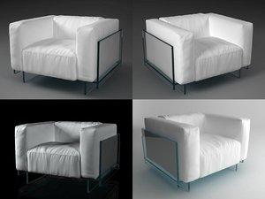 crystal armchair model