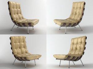 bone chair n 3D model