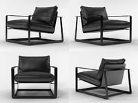 3D gaston armchair