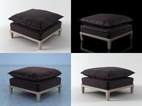 3D maceda footstool