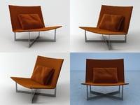 3D aladdin chair model