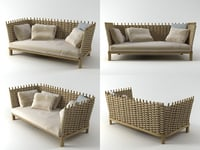 3D model wabi sofa