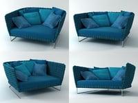 3D ami sofa 157