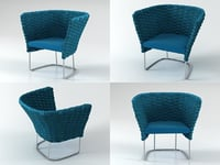 3D ami armchair 77 model