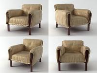 kent fauteuil 3D