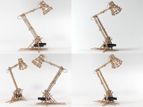 3D brave new world lamp
