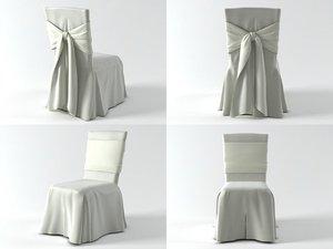 3D model ballroom chair