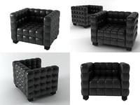 3D kubus armchair