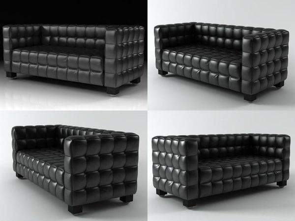 3D model kubus sofa