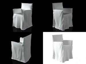 ghost 24 armchair 3D