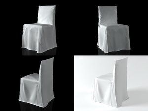 ghost 23 chair 3D model