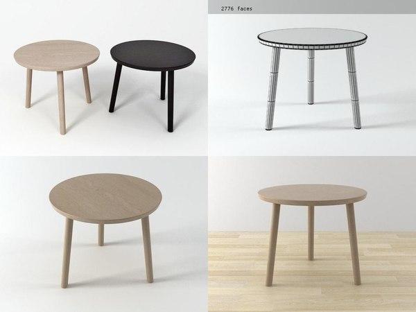 hiroshima table 3D model