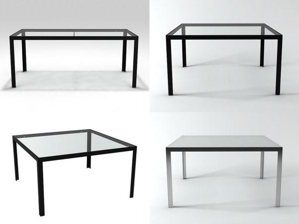 table b 3D model
