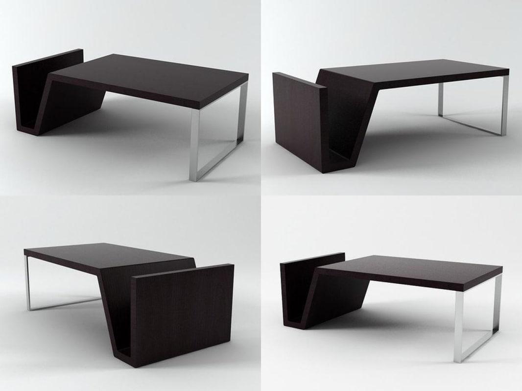 3D barcelona table