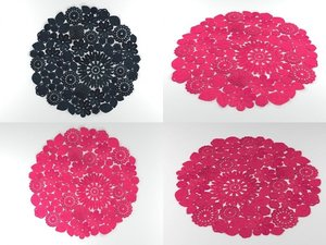 crochet 3D model
