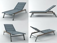 equinox lounger 3D model
