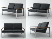 3D model equinox seat settee