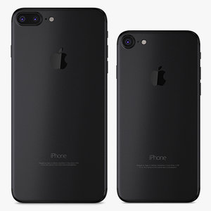 3D apple iphone 7 matte