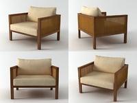 3D cosme velho armchair