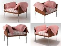 3D isay armchair model