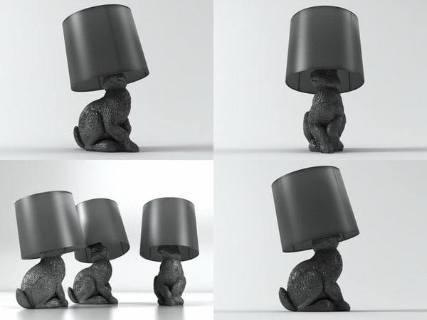 rabbit lamp model