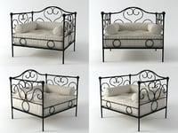 3D morfeo armchair