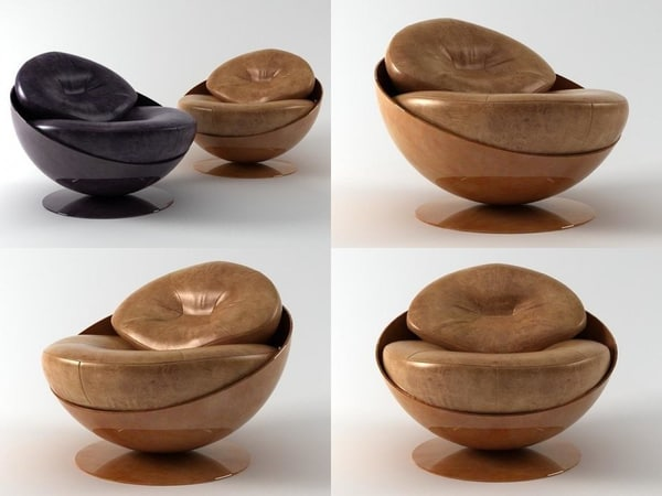 esfera armchair 3D