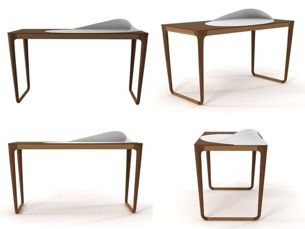 sunday morning writing desk 3D model