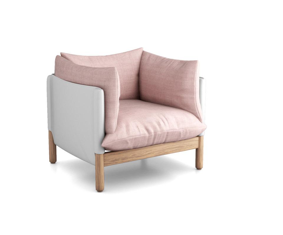 armchair kurreinfor chair 3D model