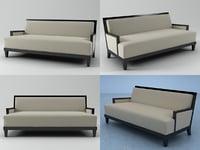 carmel sofa 3D model